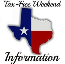 Texas Tax Free Weekend 2020