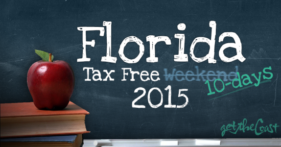Florida Tax Free Holiday 2015
