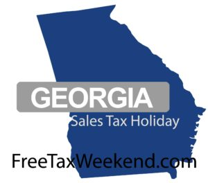 Georgia Sales Tax Holiday