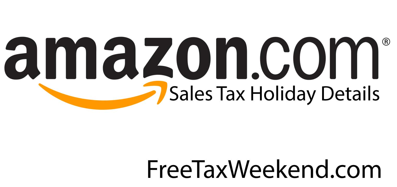 Amazon.com Tax Free Weekend 2016. Sales Tax Holiday 2016 Amazon