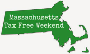 Massachusetts Tax Free Holiday 2016
