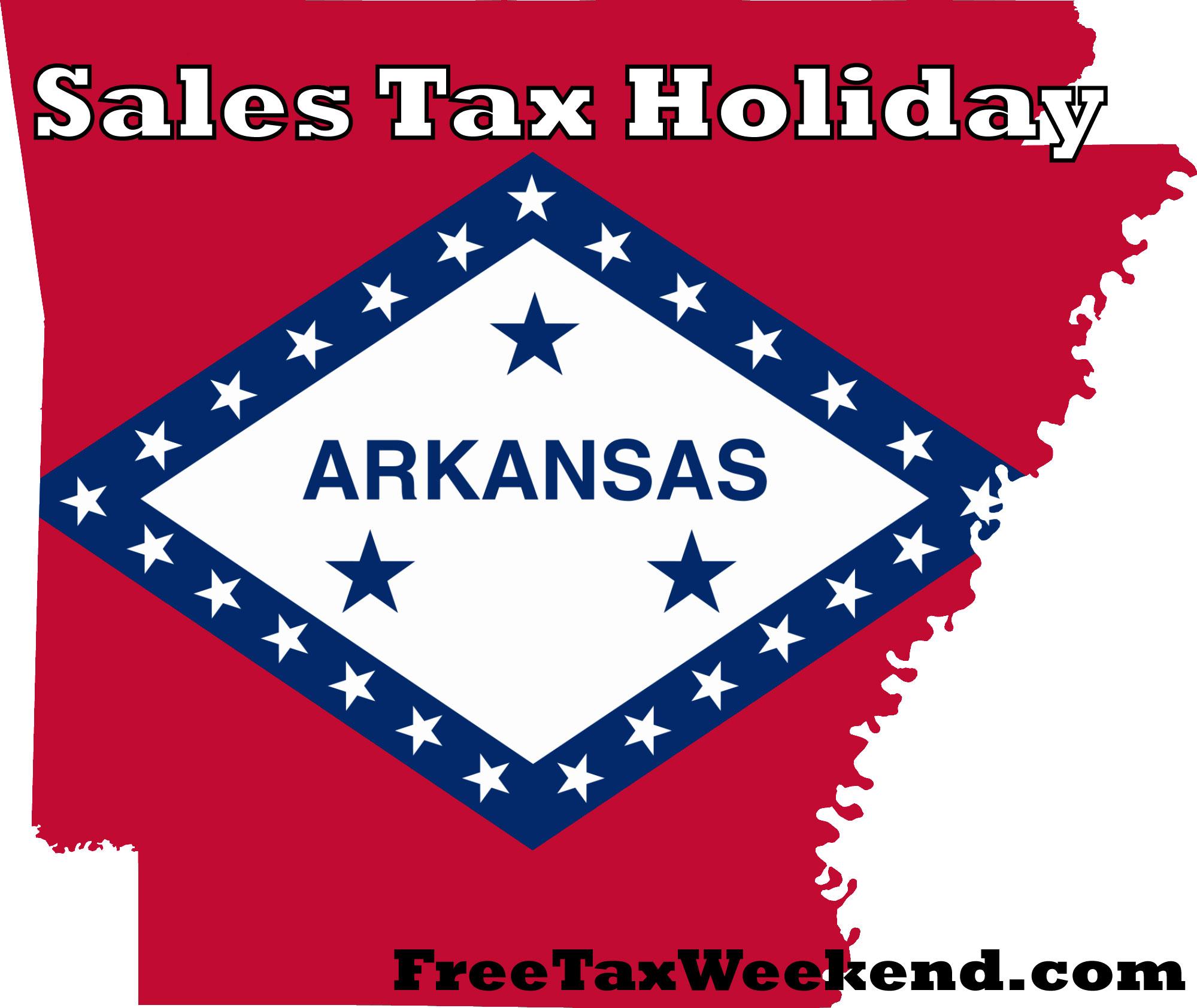 Arkansas Tax Free Weekend 2016