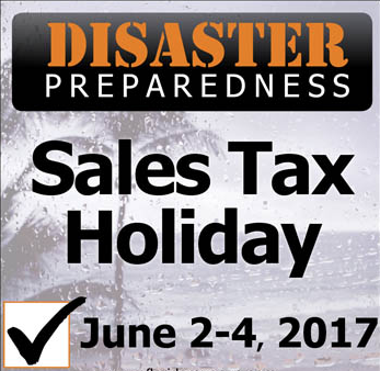 Florida Disaster Prep Sales Tax Holiday 2017