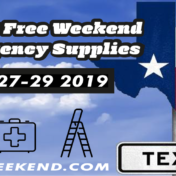 Texas Tax Free Weekend [thisyear]